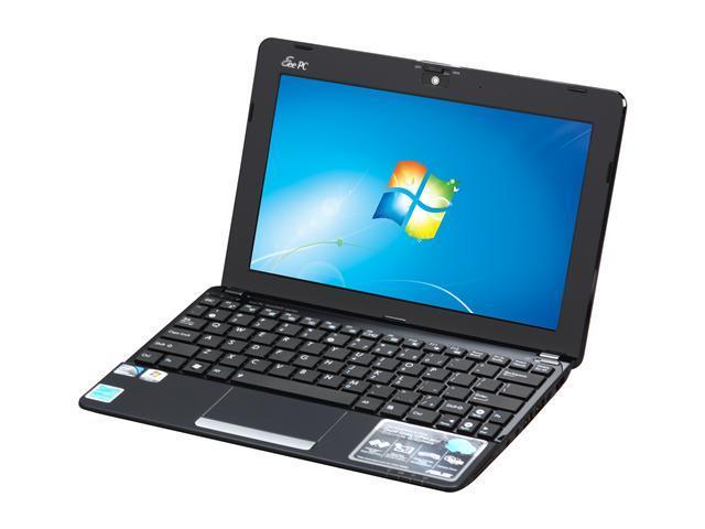 asus eee pc 1015pn pu17 bk 10 1 netbook black newegg com rh newegg com Asus Eee Notebook Asus Eee PC 2009