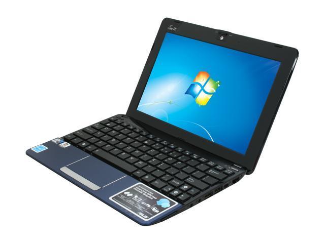 asus eee pc 1015pn pu17 bu 10 1 netbook blue newegg com rh newegg com Asus Eee PC 1005HA Asus Eee Manual PDF