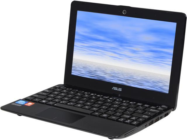 "ASUS Laptop 1015E-DS03 Intel Celeron 847 (1.1 GHz) 2 GB Memory 320 GB HDD Intel HD Graphics 10.1"" Ubuntu"