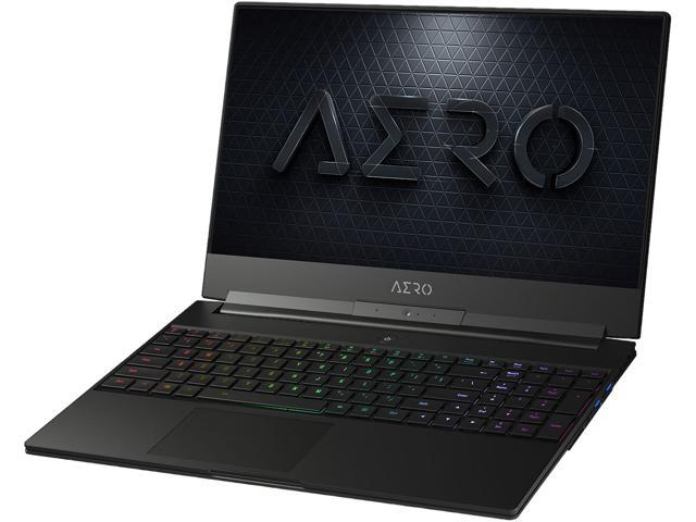 "GIGABYTE AERO 15 Classic-YA-F74ADP Core i7-9750H NVIDIA GeForce RTX 2080 Max-Q 16 GB Memory 512 SSD Intel SSD Win 10 Pro High-End 15.6"" FHD 144 Hz Gaming Laptop"
