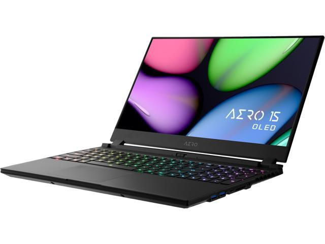 "GIGABYTE AERO 15 WB-7US1130SH, 15.6"" Gaming Laptop, Intel Core i7-10750H, RTX 2070 Max-Q, 16 GB Memory, 512 GB SSD"