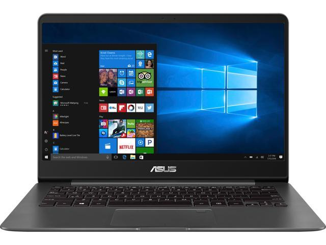 "ASUS ZenBook UX430UA-DH74 Ultra-Slim Laptop 14"" FHD WideView display (i7 8th Gen 8550U, 16 GB DDR3, 512 GB SSD, Windows 10) With Harman Kardon Quad Speakers, Backlit keyboard, Quartz Grey"