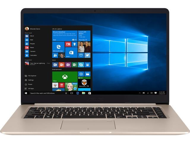 "ASUS VivoBook S510UA-DS71 Ultra Thin and Portable Laptop, Intel Core i7-8550U Processor, 8 GB DDR4 RAM, 128 GB SSD + 1 TB HDD, 15.6"" FHD WideView Display, ASUS NanoEdge Bezel, Metal Cover, S510UA-DS71"