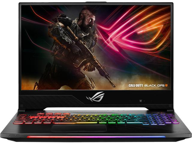 "ASUS GL504GM-DS74 ROG Strix Hero II Gaming Laptop, 15.6"" 144 Hz IPS-Type Slim Bezel Display, GTX 1060 6 GB, Intel Core i7-8750H Processor (up to 3.9 GHz), 256 GB PCIe SSD + 1 TB HDD, 16 GB DDR4"