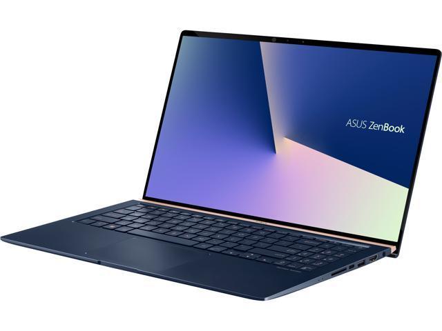ASUS ZenBook 15 Intel Whiskey Lake Core i7-8565U, 16 GB DDR4, 512 GB PCIe  SSD, GTX 1050 Max-Q, IR Camera, Ultra-Slim Compact15 6