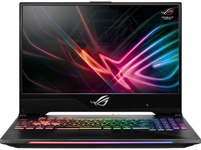 "ASUS ROG Strix SCAR II GL504GS-DH76, 15.6"" 144 Hz 3 ms IPS Slim Bezel Display, GeForce GTX 1070 8 GB, Intel Core i7-8750H (up to 3.9 GHz), 512 GB PCIe NVMe M.2 SSD, 16 GB DDR4, RGB Keyboard"