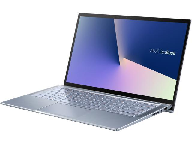 "ASUS ZenBook 14, Intel Core Whiskey Lake i5-8265U, 8 GB RAM, 256 GB NVMe PCIe SSD, NumberPad, Wi-Fi 5, Windows 10, Ultra Thin and Light Laptop, 4-Way NanoEdge 14"" FHD, Silver Blue, UX431FA-ES51"