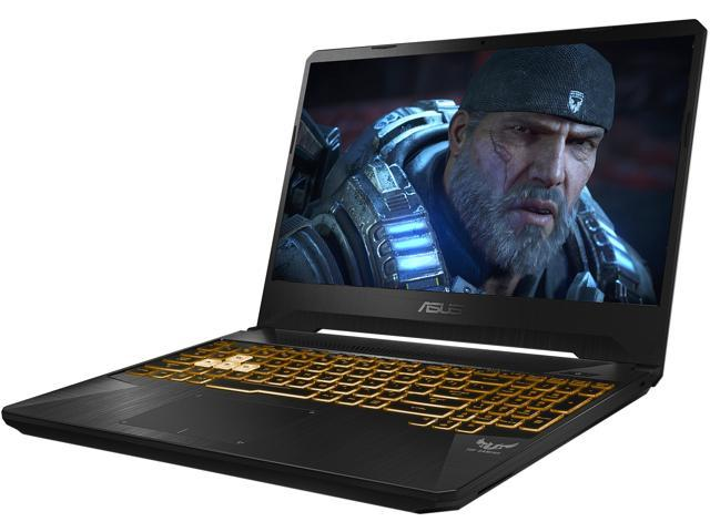 "ASUS - Gaming Laptop - 15.6"" 120 Hz IPS-type - AMD Ryzen 7 3750H (up to 4.0 GHz) - NVIDIA GeForce GTX 1660 Ti - 16 GB RAM - 256 GB SSD - 1 TB HDD - Windows 10 Home - TUF (TUF505DU-EB74)"