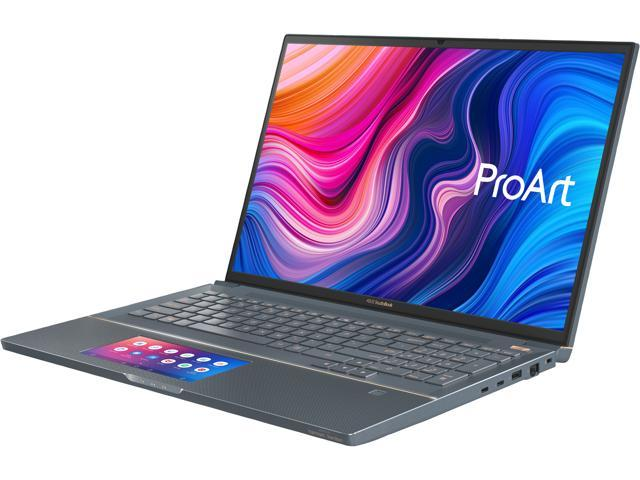 "ASUS ProArt StudioBook Pro X Mobile Workstation Laptop, 17"" WUXGA Narrow Bezel, Intel Xeon E-2276M, 64 GB ECC DDR4, 4 TB PCIe SSD, NVIDIA Quadro RTX 5000, Windows 10 Pro, W730G5T-XS99, Turquoise Gray"