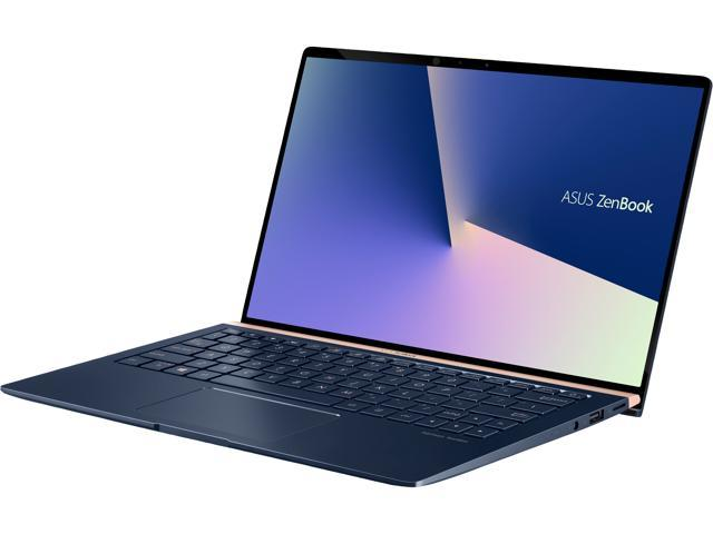 "ASUS ZenBook 13 Ultra-Slim Durable Laptop 13.3"" FHD WideView, Intel Core i7-10510U, 16 GB RAM, 512 GB PCIe SSD, NumberPad, Windows 10 Pro - UX333FAC-XS77, Royal Blue"