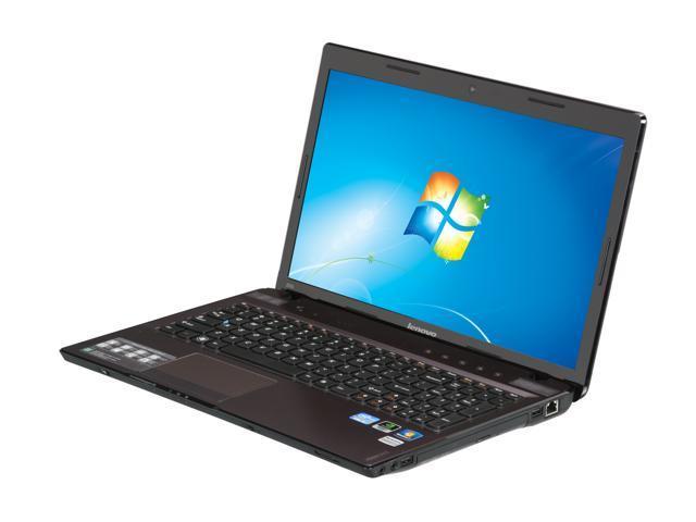 Lenovo Laptop IdeaPad Z570 (1024AWU) Intel Core i5 2nd Gen 2430M (2 40 GHz)  6 GB Memory 500 GB HDD NVIDIA GeForce GT 520M 15 6