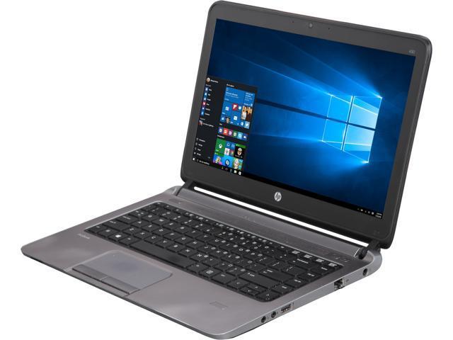 refurbished hp laptop probook 430 g1 intel core i5 4th gen 1 60 ghz rh newegg com hp probook 430 g2 notebook pc manual hp 430 laptop manual