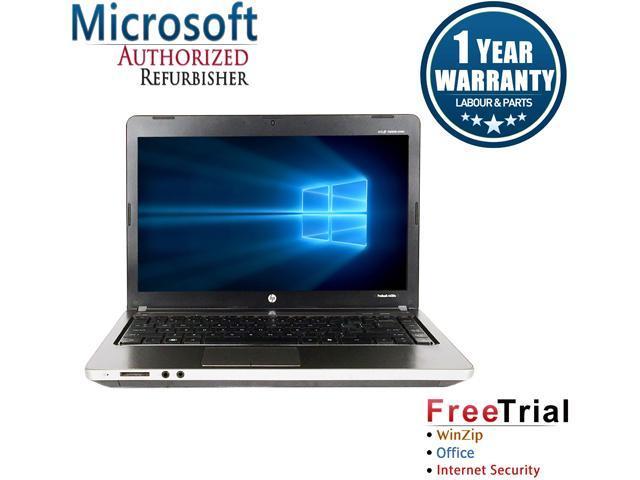 Refurbished: HP Laptop ProBook 4430S Intel Core i5 2nd Gen 2410M (2 30 GHz)  4 GB Memory 1 TB HDD Intel HD Graphics 3000 14 0