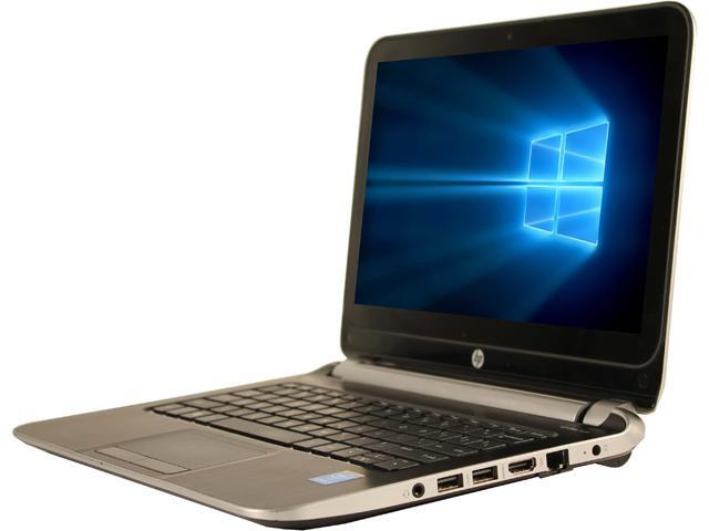 Refurbished: HP Laptop 210 G1 Intel Core i3 4th Gen 4010U (1 7 GHz) 4 GB  Memory 500 GB HDD Intel HD Graphics 4400 11 6