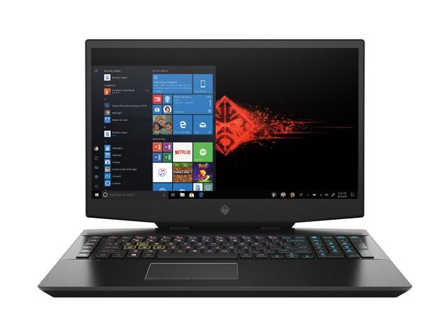 "HP OMEN 17 Gaming Laptop - 17.3"" FHD, Intel Core i7-10750H, GeForce RTX 2070, 16 GB DDR4, 512 GB SSD (17-cb1080nr, 2020 Model)"
