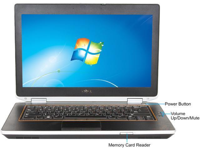 Refurbished: DELL C Grade Laptop E6420 Intel Core i5 2410M (2 30 GHz) 4 GB  Memory 250 GB HDD 14 0