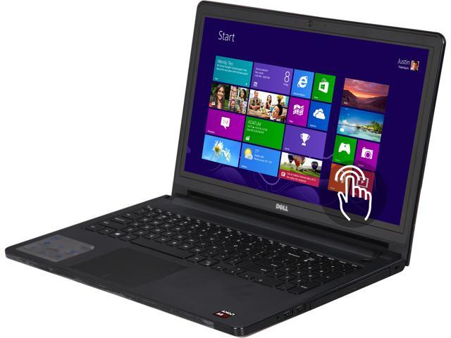 Refurbished: DELL Laptop Inspiron 15 - 5555 AMD A8-Series A8-7410 (2 20  GHz) 6 GB Memory 1 TB HDD AMD Radeon R5 Series 15 6