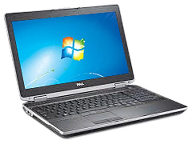Refurbished: DELL Laptop Latitude E6520 Intel Core i7 2nd Gen 2670QM (2 20  GHz) 4 GB Memory 320 GB HDD Intel HD Graphics 15 6