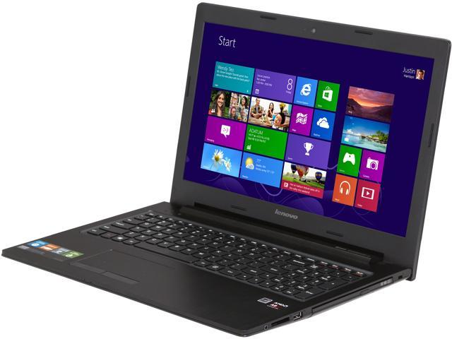 Lenovo Laptop G505s (59378837) AMD A8-Series A8-5550M (2 10 GHz) 4 GB  Memory 500 GB HDD AMD Radeon HD 8570M 15 6