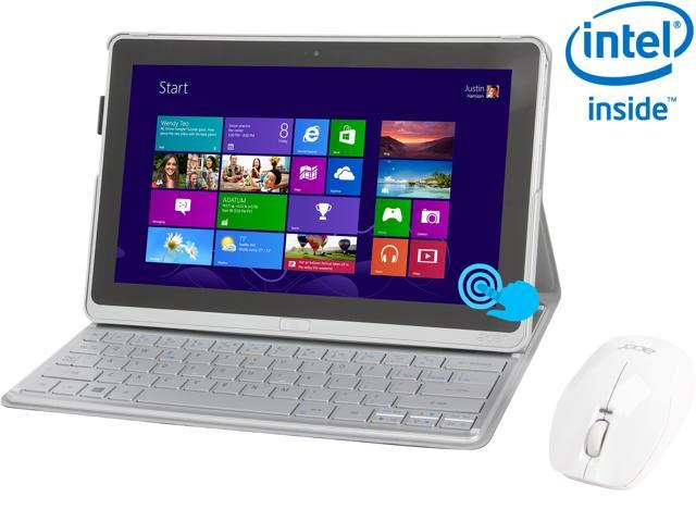 "Acer Aspire P3-171-6820 Intel Core i5 3339Y (1.50 GHz) 4GB DDR3 Memory 11.6"" 1366 x 768 Tablet Windows 8 Silver"