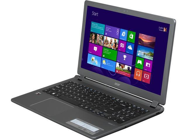 Open Box: Acer Laptop Aspire V5 V5-552-X814 AMD A10-Series A10-5757M (2 50  GHz) 6 GB Memory 750 GB HDD AMD Radeon HD 8650G 15 6
