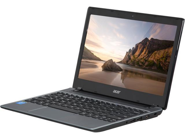 "Acer C710-2856 11.6"" Chromebook Intel Celeron 847 1.1Ghz 2GB RAM 16GB SSD Google Chrome OS Manufacturer Certified Refurbished Grade B (Manufacturer Recertified)"