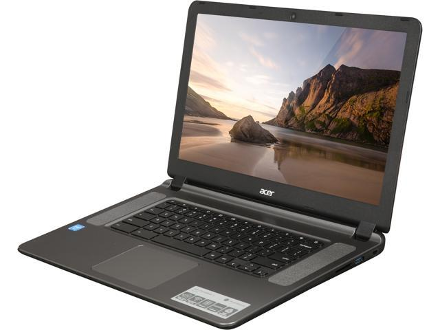 Acer CB3-532-C47C Chromebook Intel Celeron N3060 (1 60 GHz) 2 GB Memory 16  GB Flash 15 6