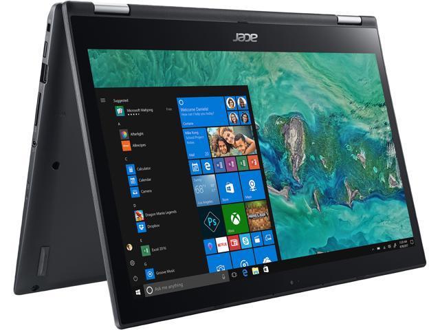 "Acer Spin 3 SP314-51-59NM Intel Core i5 8th Gen 8250U (1.60 GHz) 8 GB Memory 256 GB SSD Intel UHD Graphics 620 14"" Touchscreen 1920 x 1080 2-in-1 Laptop Windows 10 Home 64-bit"