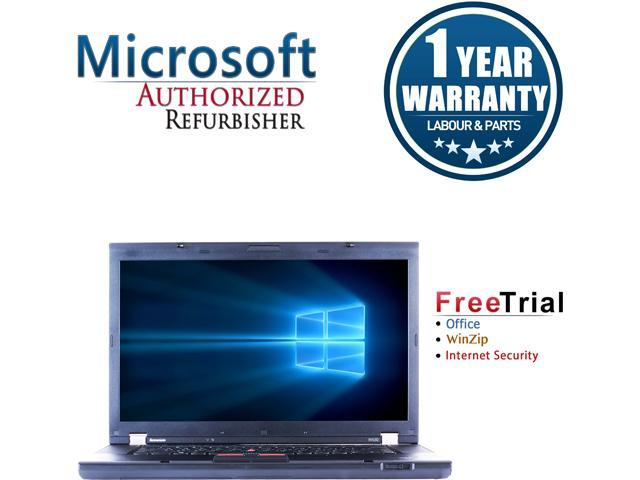 Refurbished: Lenovo Laptop ThinkPad W530 Intel Core i7 3rd Gen 3720QM (2 60  GHz) 8 GB Memory 1 TB HDD NVIDIA Quadro K1000M 15 6