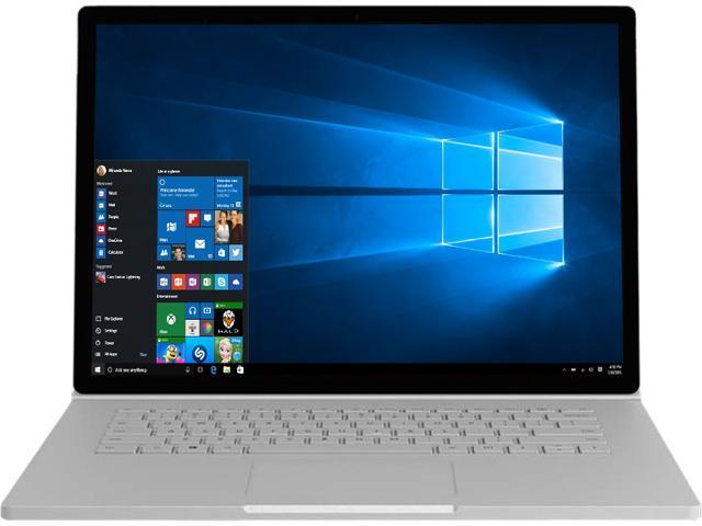 "Microsoft Surface Book 2 HN6-00001 Intel Core i7 8th Gen 8650U (1.90 GHz) 8 GB LPDDR3 Memory 256 GB SSD NVIDIA GeForce GTX 1050 13.5"" Touchscreen 3000 x 2000 Detachable 2-in-1 Laptop Windows 10 Pro Cr"