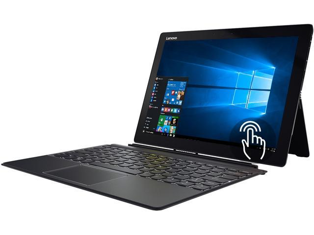 "Lenovo Miix 720 80VV00CNUS Intel Core i7 7th Gen 7500U (2.70 GHz) 8 GB Memory 256 GB SSD 12"" Touchscreen 2880 x 1920 Detachable 2-in-1 Laptop Windows 10 Home 64-Bit"