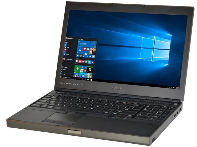 Refurbished: DELL B Grade Laptop Precision M4700 Intel Core i7 3rd Gen  3720QM (2 60 GHz) 8 GB Memory 500 GB HDD NVIDIA Quadro K1000M 15 6