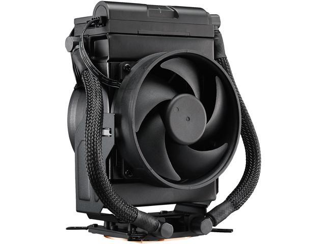 63f1a99f266 Cooler Master MasterLiquid Maker 92 AIO Hybrid CPU Cooler, Swivel Vertical  or Horizontal Configurations ,