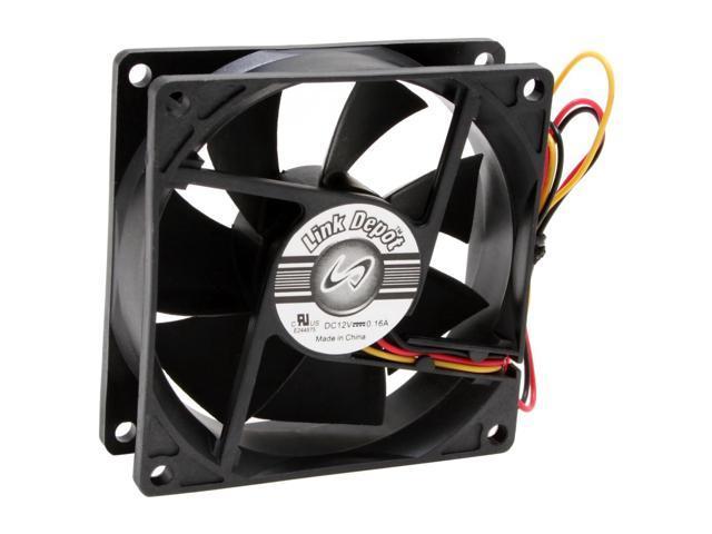 Link Depot FAN-80-BK Case Fan - Newegg com