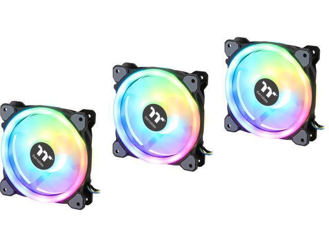 Thermaltake Riing Trio 12 RGB Radiator Fan TT Premium Edition (3-Fan Pack)  CL-F072-PL12SW-A RGB LED Case Fan - Newegg com
