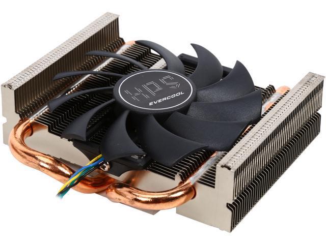 EVERCOOL EC-HPS-810CP 1 ball bearing  Fan Life Expectancy at 25 degree  Celsius 35000HR Low profile Intel & AMD CPU cooler - Newegg com