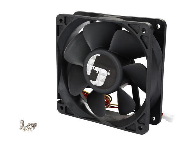 Bgears Blaster Series b-Blaster 120x38 120mm Non-LED LED 2 ball bearing High Speed 4500RPM with 218 CFM 120x120x38mm 3pin 3wire DC Fan