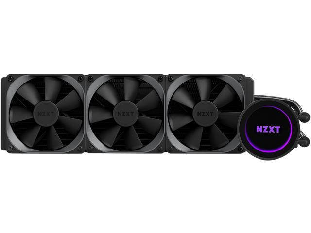 Photo of Kraken X72 cooling system