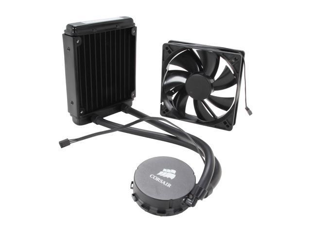 CORSAIR Hydro Series H55 Quiet Edition Water / Liquid CPU Cooler 120mm  (CW-9060010-WW) - Newegg com