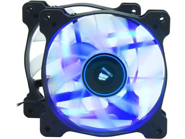 Corsair Air Series AF120 LED 120mm Quiet Edition High Airflow Fan Twin Pack  - Blue (CO-9050016-BLED) - Newegg com