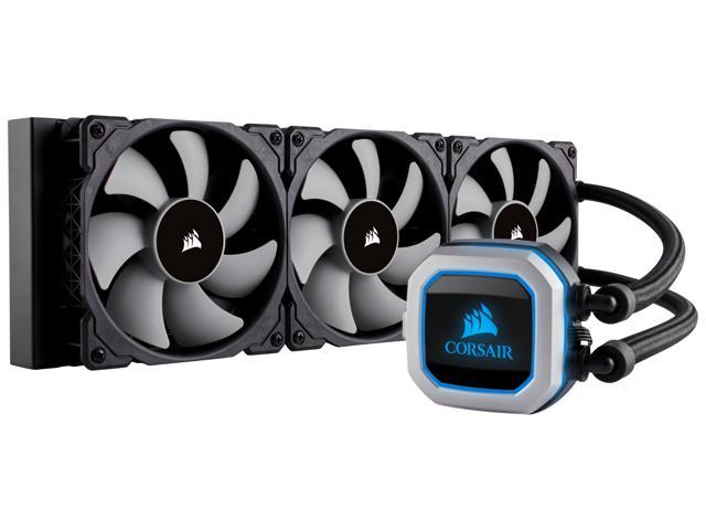 Corsair Hydro Series, H150i PRO RGB, 360mm  3 X 120mm ML PWM Fans, Advanced  RGB Lighting & Fan Control w/ Software  Liquid CPU Cooler  CW-9060031-WW