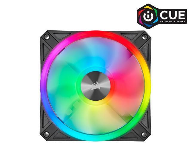 CORSAIR QL Series,  iCUE QL120 RGB, 120mm RGB LED Fan, Single - Sale: $45.99 USD (8% off)