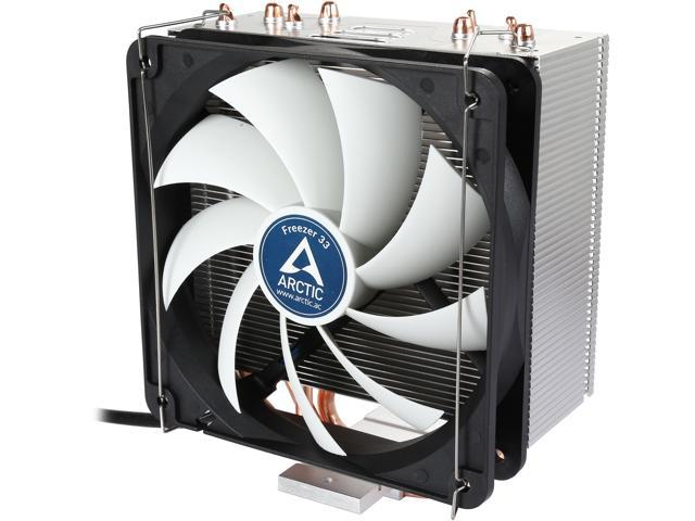 ARCTIC COOLING ACFRE00028A 120mm Fluid Dynamic Semi Passive Tower CPU Cooler
