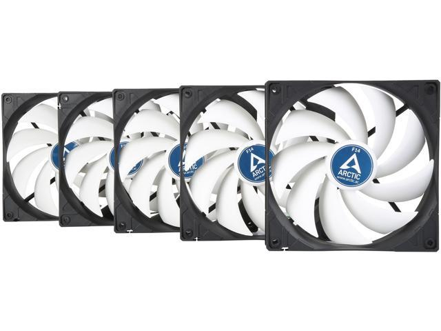 Arctic F14 - Value pack 140mm Standard Low Noise Case Fan Cooling, 5 Pack -  Newegg com