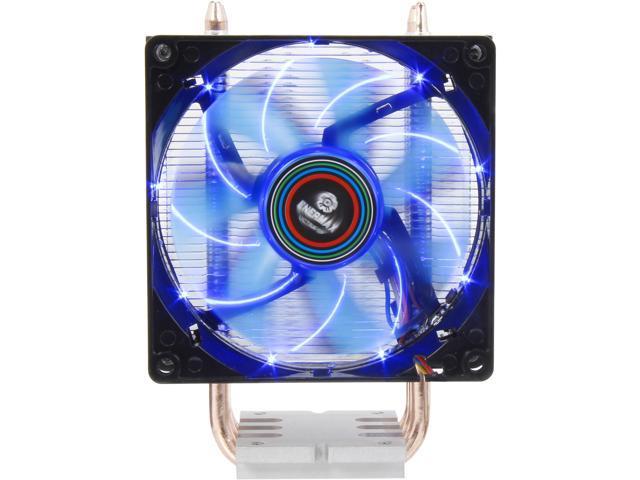 3e27adbcca3 Enermax ETS-N30-TAA Black 92mm Twister CPU Cooler with TB Apollish Blue LED