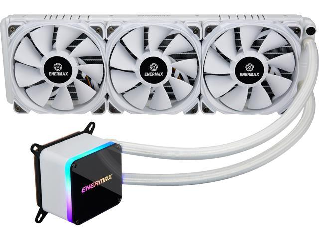 Enermax LIQTECH II 280 ARGB All-in-one CPU Liquid Cooler - White