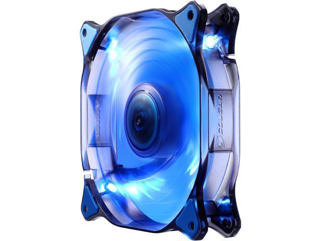 Cougar CFD120 BLUE LED Fan (CF-D12HB-B) Blue LED Case Fan - Newegg com