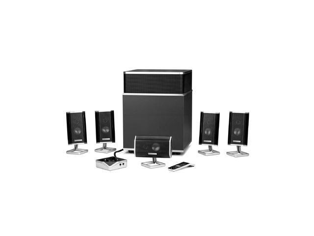 Altec lansing fx5051 5. 1 powered speaker system with usb.