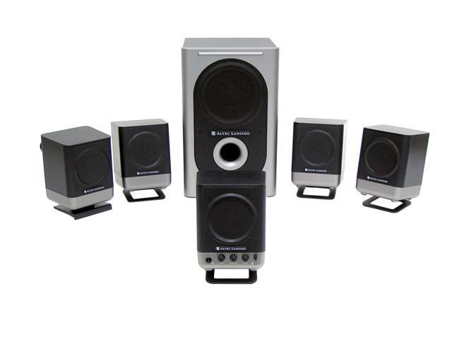 How to reset altec lansing speaker