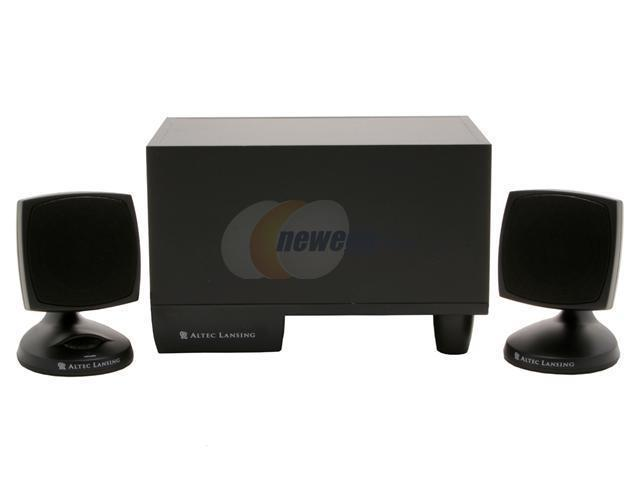 ALTEC LANSING ACS33BW Speakers - Newegg com